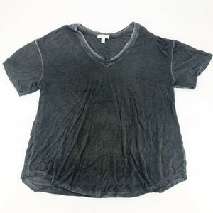 Abound Washed V-Neck High/Low T-Shirt M